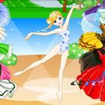تلبيس راقصة البالية