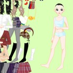 مـلابـس الـمدرسـة | School Girl Dress Up